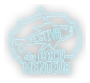 DocuMenteur Logo - version néon
